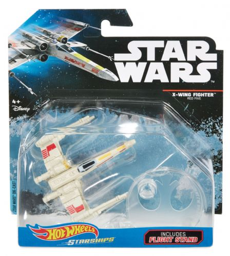 Hot Wheels Star Wars X-Wing Fighter Red Five